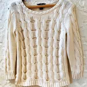 H&M |  Cream Sweater